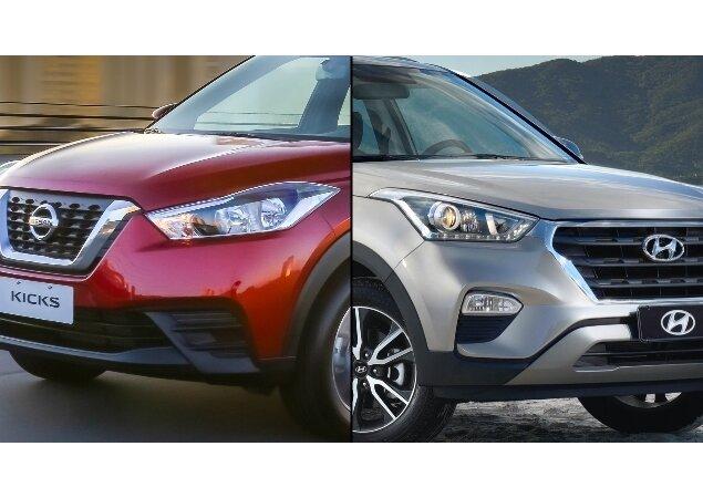 Em números: Nissan Kicks e Hyundai Creta, qual o melhor ...