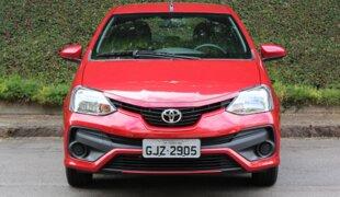 Série especial Toyota Etios Ready ganha pelo visual