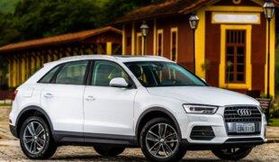 Audi Q3 feito no Brasil agora é flex