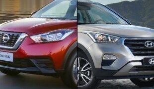 Em números: Nissan Kicks e Hyundai Creta, qual o melhor PCD?
