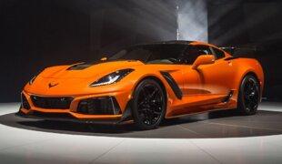 ZR1 é o Corvette mais potente da história com 765 cv