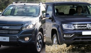 Em números: Chevrolet S10 100 Years ou VW Amarok Highline V6