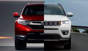 Honda CR-V Touring ou Jeep Compass Limited? | Em números