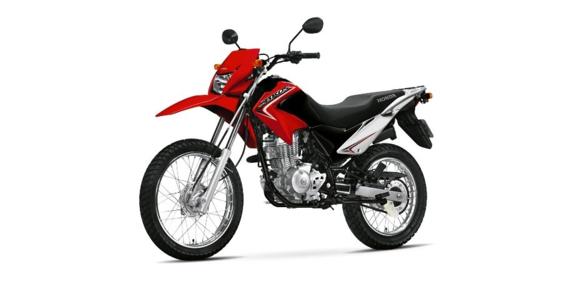 Resultado de imagem para foto NXR Bros 125cc, ano modelo 2014, cor vermelha
