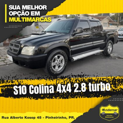 CHEVROLET S10 COLINA 4X4 2.8 TURBO ELECTRONIC  CAB SIMPLES