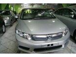 Honda Civic LXS 1.8 i-VTEC (Aut) (Flex) 2016/2016 4P Prata Flex