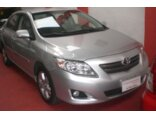 Toyota Corolla Sedan XEi 1.8 16V (flex) (aut) 2008/2009 4P Prata Flex