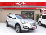 Hyundai Santa Fe 3.3L V6 4x4 (Aut) 7L 2014/2014 5P Prata Gasolina