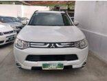 Mitsubishi Outlander 2.0 16V CVT 2014/2015 4P Branco Gasolina