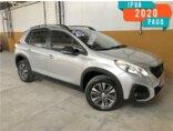 Peugeot 2008 Allure Pack 1.6 16V (Aut)(Flex) 2019/2020 4P Prata Flex