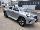Toyota Hilux 2.8 TDI STD CD 4x4 2017/2017 4P Prata Diesel