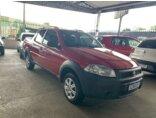 Fiat Strada Working 1.4 (Flex) (Cabine Dupla) 2014/2015 3P Vermelho Flex
