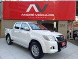 Toyota Hilux 3.0 TDI 4x4 CD SRV Top (Aut) 2013/2013 4P Branco Diesel