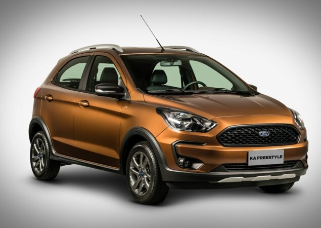 Ford Ka Estreia Novos Motor Visual E Transmissoes