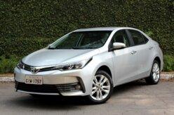 Mesmo com queda de 21%, Corolla vende mais que Civic e Cruze