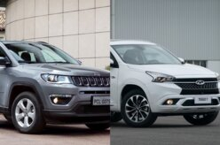 CAOA Chery Tiggo 7 TXS ou Jeep Compass Sport? | Em números