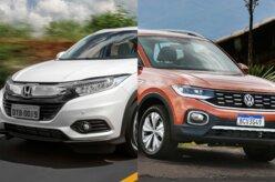Em números: Honda HR-V Touring ou VW T-Cross Highline?