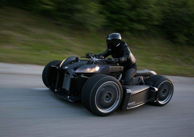 Conheça o quadriciclo com motor Ferrari - Notícias iMotos
