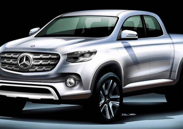 Mercedes-Benz terá uma picape até 2020 - Notícias iCarros