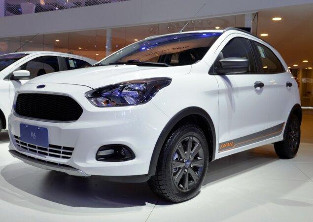 A Ford Deve Lancar Oficialmente A Versao Aventureira Do Ka Batizada De Trail Ate O Final Deste Mes Ela Foi Revelada No Final Do Ano Passado Durante O