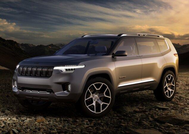 Jeep Wrangler Usado >> Grand Commander pode ser novo SUV de 7 lugares da Jeep - Notícias iCarros
