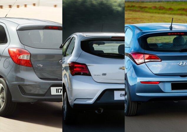 A Chegada Do Ford Ka Reestilizado Vai Esquentar A Briga Entre Ele E Seus Principais Concorrentes Chevrolet Onix E Hyundai Hb