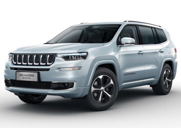 Irmao Maior Do Jeep Compass Ganha Versao Hibrida Na China