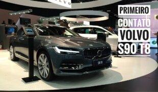O mais luxuoso e econômico Volvo do Brasil: S90 T8