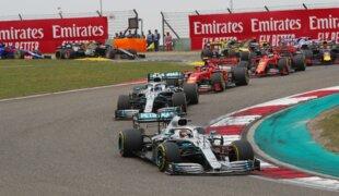 Recorde da Mercedes marca GP 1000 da F1