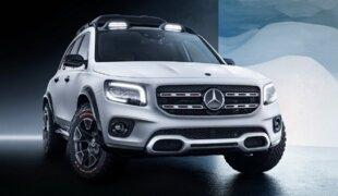 Mercedes apresenta conceito de SUV na China