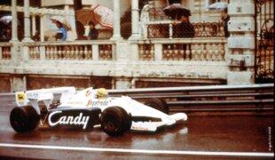 Há 35 anos, o primeiro show de Ayrton Senna na F1