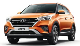 Hyundai Creta está entre os carros mais vendidos da Índia