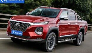 Caminhonete da Hyundai pode usar motor do Genesis GV80