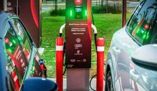 SP ganha 1ª rede de recarga rápida para carros elétricos