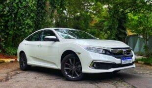 Honda Civic Touring 2021: impressões ao dirigir