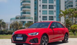 Novo Audi A4 aposta em design esportivo e novas tecnologias